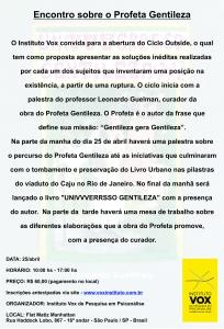 Convite Gentileza